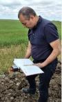 Radiasiya Problemləri İnstitutunun əməkdaşı Cəbrayıl-Xocavənd rayonlarında radioekoloji monitorinq aparıb