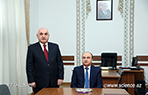 The new head of ANAS Department of Affairs was presented to the staff