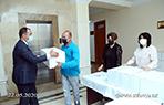 Малообеспеченным сотрудникам академии была оказана продовольственная помощь