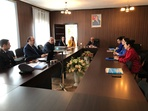 At the Institute was held a meeting with a delegation of the international organization